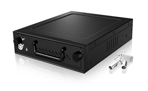 "ICY BOX IB-148SSK-B - Caja extraíble de Disco Duro (2.5"", 3.5"", SATA), Negro"