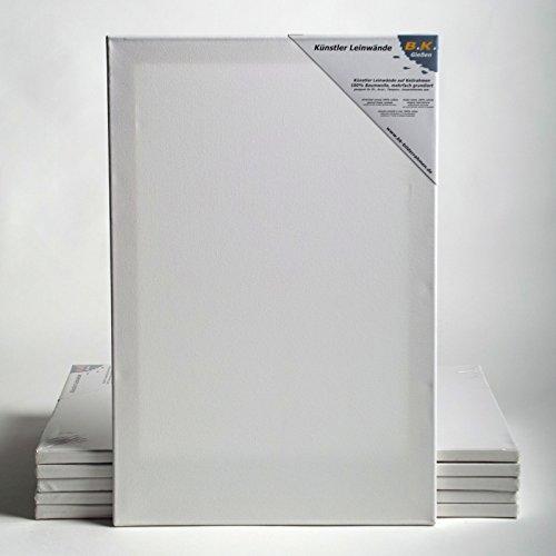 6 LEINWÄNDE AUF KEILRAHMEN von XTRADEFACTORY 30x40 cm Leinwand malfertig (Leinwand 30 X 38)