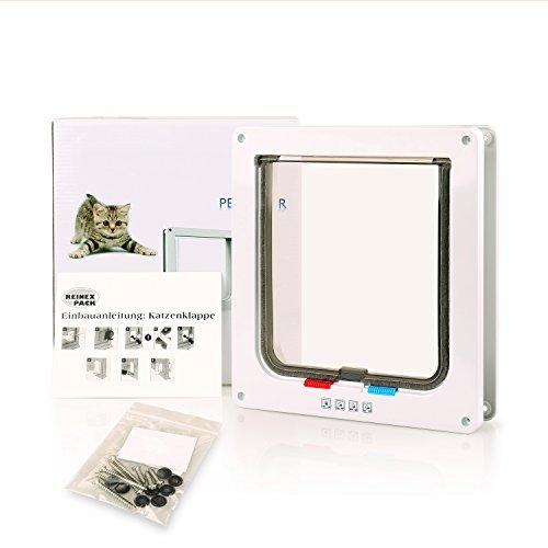 BIGWING Style-Gatera Puerta Cuadrada Automática para Gato/Perro Acces