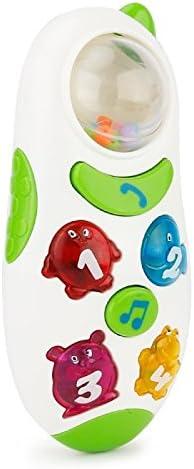 Wewoo Jeux musicaux pour   Blanc Brettbble Cartoon Style bébé éducation précoce téléphone Portable Style Cartoon Musique Jouets avec LED lumière 6f3adf