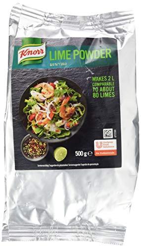 Knorr Lime Powder (Zubereitung mit Limettengeschmack, die Alternative zu frischen Limetten, ergibt 2 Liter) 500g