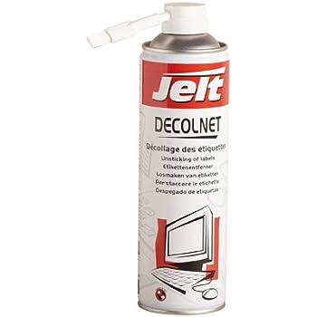 Jelt Décolnet Solvant pour Décollage des étiquettes 650 ml / 500 ml