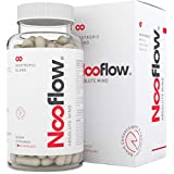 Vitaminas para el Cerebro Nooflow Absolute Mind Premium | Para Concentración, Memoria, Aprendizaje, Ánimo, Energía y Salud | 100% Natural Mezcla Nootrópica de Vitaminas y Hierbas | 60 Cápsulas