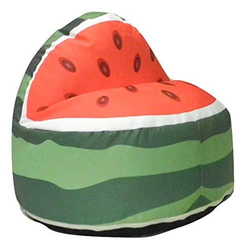 YE Süße Wassermelone Kinder Sitzsack Kinder Beanbag mit Füllung
