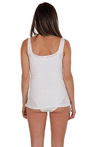 Premamy - Damen Umstands Still Tank Top Schwangerschaft - Farbe: Weiß Weiß