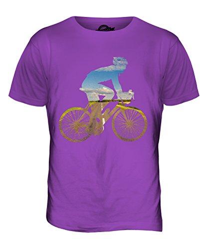 CandyMix Radfahren Herren T Shirt Violett