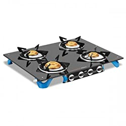 Vidiem Air Stile Plus 4 B Glass Top Gas Stove