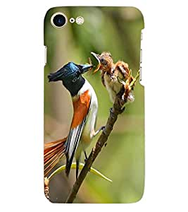 ColourCraft Bird Design Back Case Cover for APPLE IPHONE 7