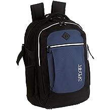 Spear® Mochila 1758 rhombi Daypack School bagpack Mochila Escolar 2 compartimiento principal abdominal Organizador Respaldo
