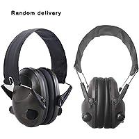 TAC 6S Diseño plegable Anti-ruido Cancelación de ruido Tactical Shooting Headset Soft orejera electrónica acolchada para la caza deportiva