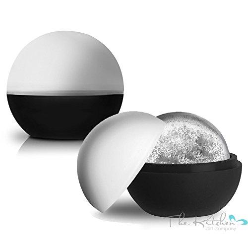 XL sfera rotonda-Grandi sfere di ghiaccio stampo in silicone bevande, la cucina Gift Company® - Xl Silicone