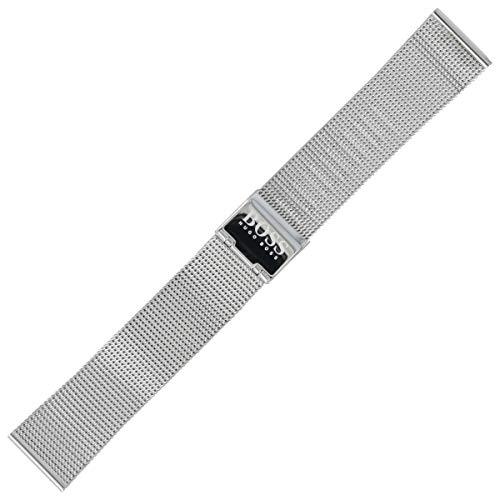 Hugo Boss Uhrenarmband 20 mm Edelstahl Silber - 659002541