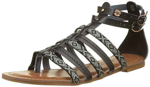 roxy-emilia-spartiates-femme-multicolore-black-36-eu