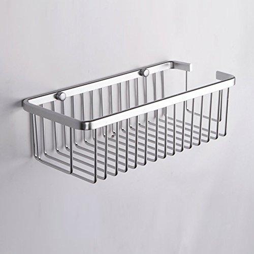 KES A4023 Duschkorb aus Aluminum, rechteckig, Wandmontage - 3