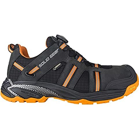 Solid Gear sg8000642Hydra GTX–Zapatos de seguridad S3talla 42NEGRO/NARANJA