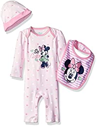Disney Baby Girls Minnie Mouse Coverall