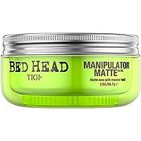 Tigi Bed Head Manipulator Cera opaca  per capelli con massima tenuta, 56.7 g