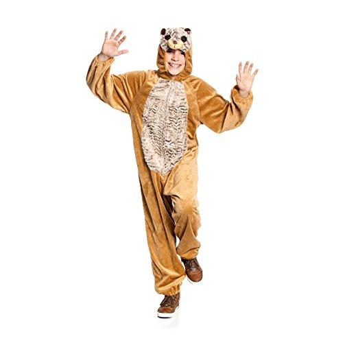 Kostümplanet® Erdmännchen-Kostüm Kinder Größe (Für Erdmännchen Erwachsene Kostüme)