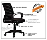 Seat chacha Boom Series Home Office revolving Chair with Nylon Base & castors
