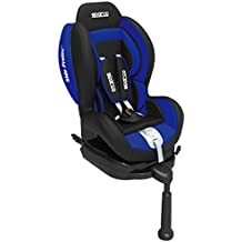 Sparco SPC3006AZ F500I Silla Infantil con Isofix, Azul