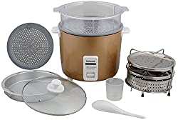 Panasonic SR-WA22FHS(UC) 5.4-Litre Electric Cooker (Gold)