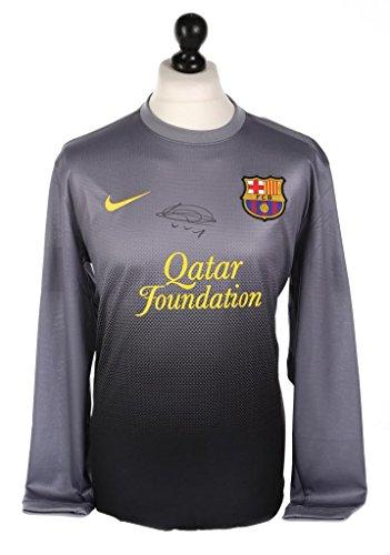 Victor-Valdes-Signed-Barcelona-GK-Shirt-Autograph-Barca-Jersey-Memorabilia-COA