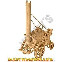 Rocket 1829 Kit Matchstick Matchmodeller Modèle de Stephenson