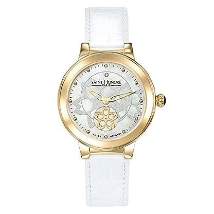 Saint-Honor-Damen-Analog-Quarz-Uhr-mit-Leder-Armband-7620223FYID