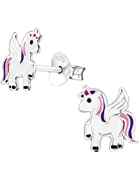 Katy Craig - Unicorn Earrings - Sterling Silver