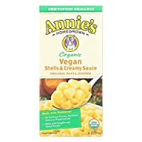 Annie'S - Organic Vegan Shells and Creamy Sauce 6 Oz. 160329