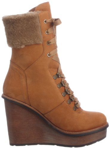 Scholl  KALEIGH, bottines cheville femme Marron - Braun (Cognac)