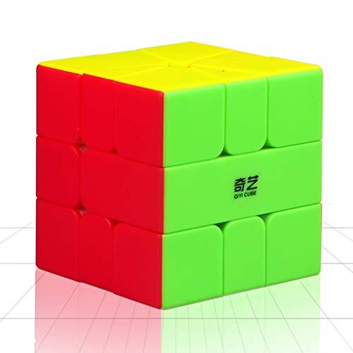 TOYESS Square One Cube Stickerless, Speed Cube 3x3x3 Smooth Cubo Magico Cubo di velocità Puzzle Cube Giocattolo Regalo per i Bambini e Adulto