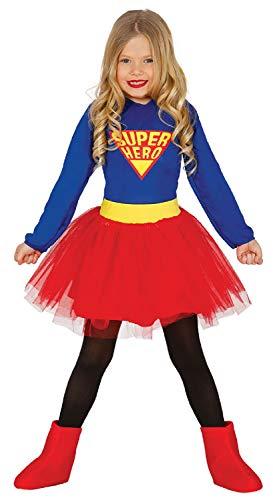 Fancy Me Mädchen Superhelden-Kleid mit Tutu-Kleid Weltbuch Tag Woche TV Film Cartoon Kostüm Outfit (Mädchen Superhelden Kostüm Mit Tutus)