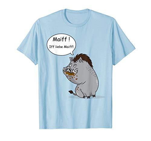 Jagd Shirt Wildschwein - das Jäger Geschenk Damen und Herren