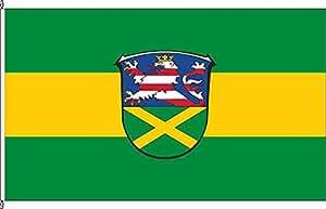 Flagge Fahne Autoflagge Gladenbach - 30 x 45cm