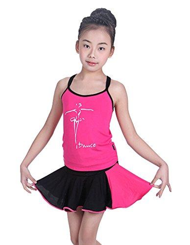 eid Latin Dance Kleid BLACK, 120-130CM Höhe ()