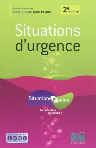 Situations d'urgence 2eme édition