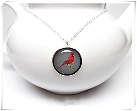 Cardinal Pendentif Bird Watcher Cadeau Bird Bijoux Bird Collier Girlfriend