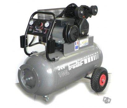 Compresseur courroie bi-cylindre v100 l3 cv PRODIF 347l/min