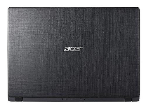 Acer Aspire 1 A114-31-C3RS 35,6 cm (14 Zoll HD matt) Notebook (Intel Celeron N3450, 4GB RAM, 64GB eMMC, Intel HD, HDMI, Win 10 S) schwarz