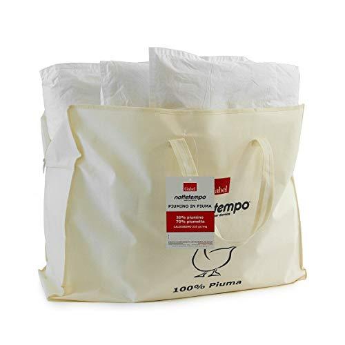 Gabel Nottetempo Piumino Caldissimo 235 gr/mq, Imbottitura 30% Piumino, 70% Piumetta, Fodera Puro Cotone