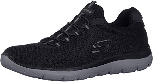 Skechers Herren Summits-52811 Sneaker, Schwarz (Black/Charcoal), 44 EU -