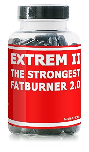 Extrem II - 120 Kapseln - THE STRONGEST FATBURNER ON EARTH