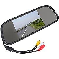 TFT 5inch un auto colori specchio retrovisore ingresso del display