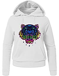Pop KENZO Tiger Head For Ladies Womens Hoodies Sweatshirts Pullover Outlet