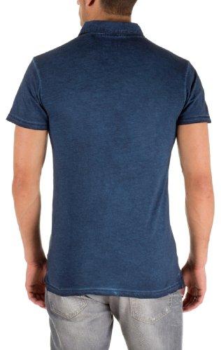 Solid Herren Polo Shirt  Polo Shirt, Polo Blau - Insignia Blue