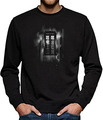 TLM Space Box Sweatshirt Pullover Herren L Schwarz