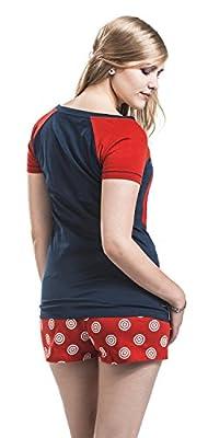 Captain America Shield Emblem Pyjama bleu/rouge