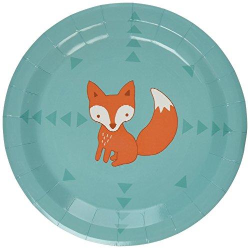 ginger-ray-assiette-en-carton-motif-renard-woodland-friends