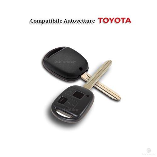 concha-cascara-llave-mando-a-distancia-2-botones-para-coche-toyota-corolla-rav4-celica